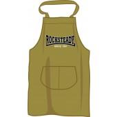 BBQ apron 'Rocksteady Since 1967', olive green