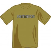 T-Shirt 'Jamaica' army green, all sizes
