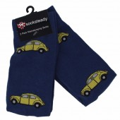 Warrior Socksteady Socks Pack of 2 VW Beetle Socks - 2pk