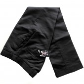 Warrior Vintage Sta Prest Trousers Black, size 28